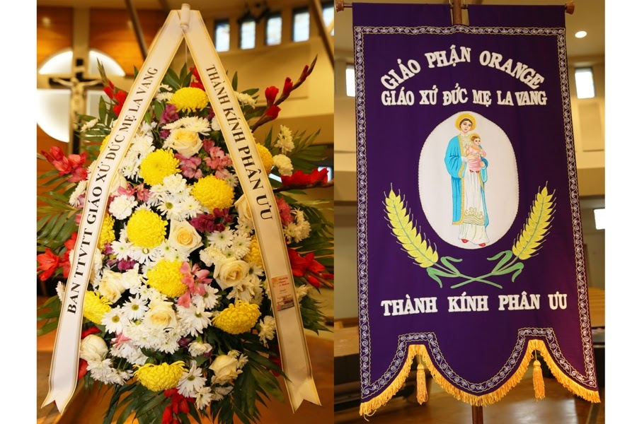 Chương Trình Lễ Tang Bà Anna Trần Thị Huê
