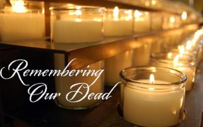 Remember all Souls in November