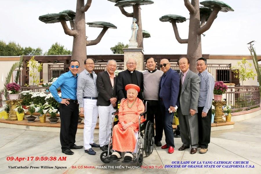 Chúa Nhật Lễ Lá & Mừng Thượng Thọ Bà Cố Maria Phan Thị Hiển 93 Tuổi.