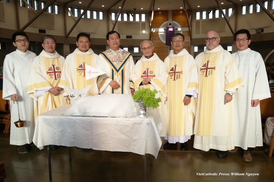 Thứ 5 Tuần Thánh, Thánh Lễ Tiệc Ly 2018