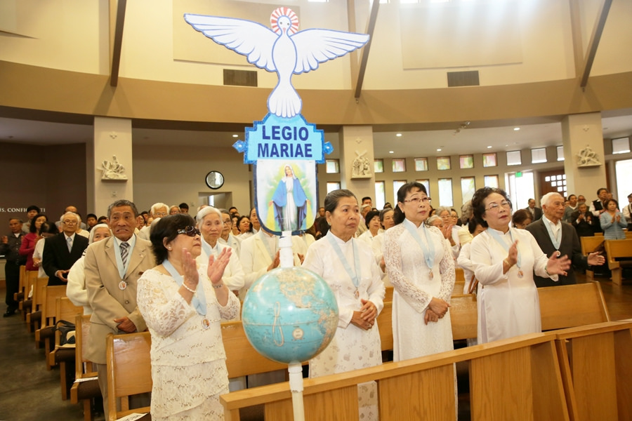 Lễ kỉ niệm hội Legio Mariae GX Đức Mẹ La Vang