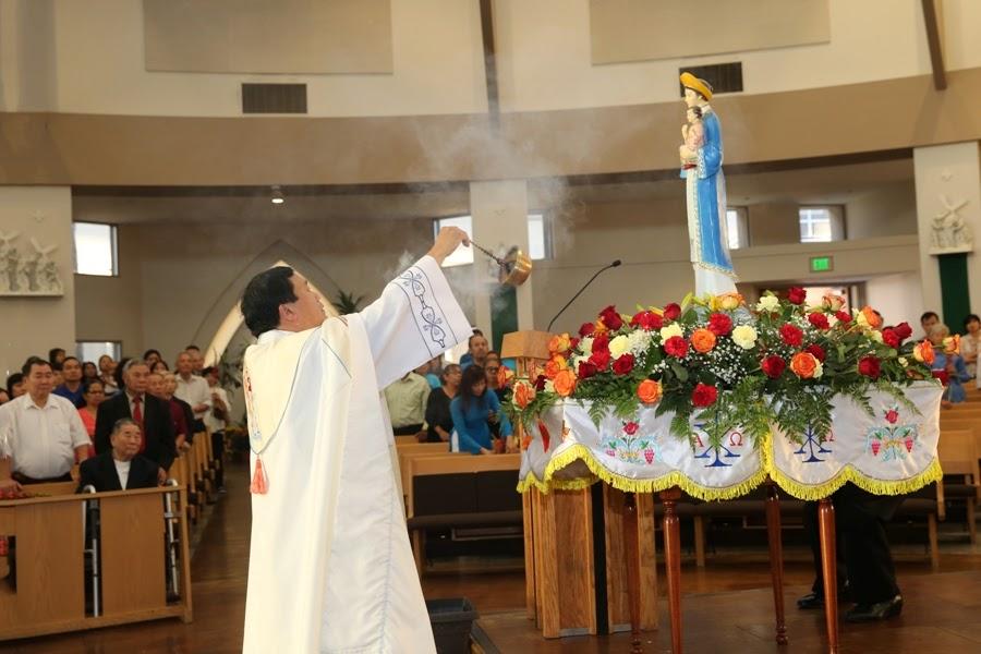 Kiệu Đức Mẹ 2016 Giáo Xứ Đức Mẹ La Vang