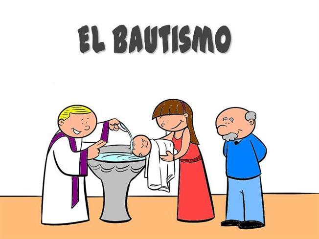 SACRAMENTO DE BAUTISMO