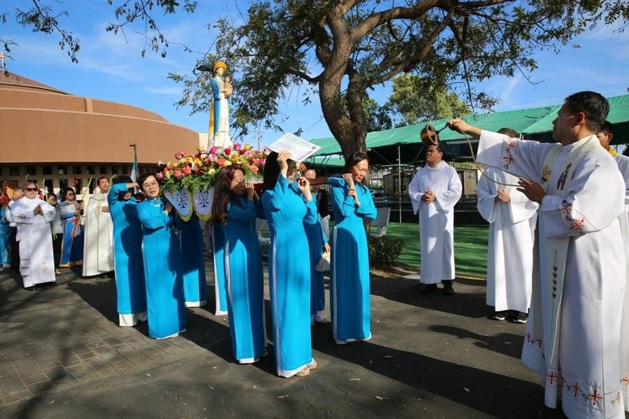Tháng Hoa Đức Mẹ Giáo xứ La Vang 2018