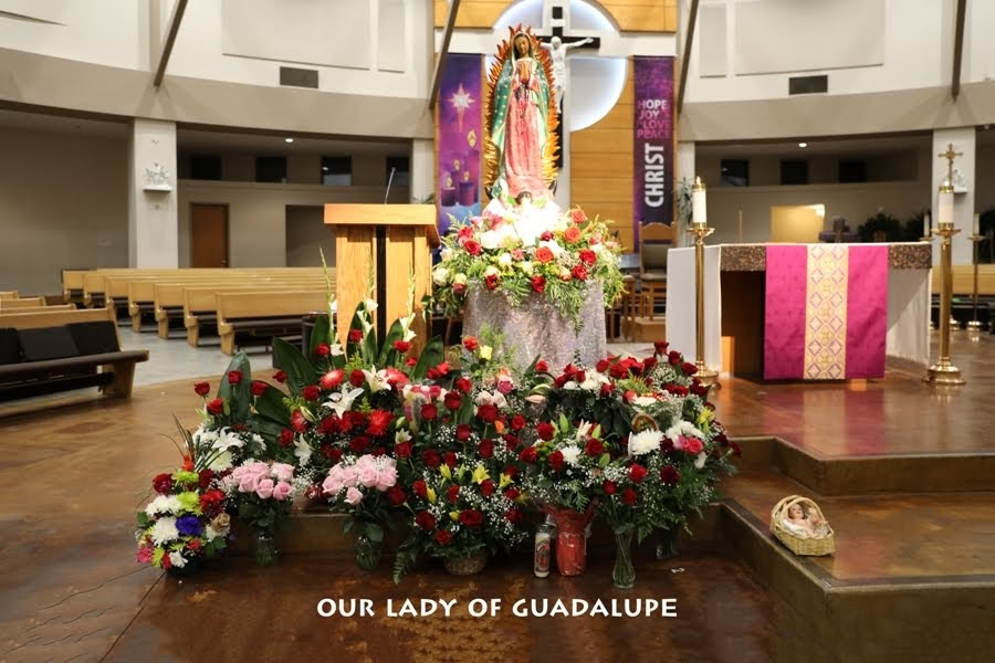 DEC 12 2019 OUR LADY OF GUADALUPE.