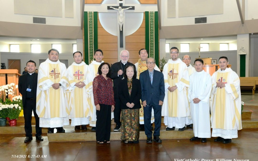JULY 14 2021 Birthday Pastor Joseph Luan Nguyen.
